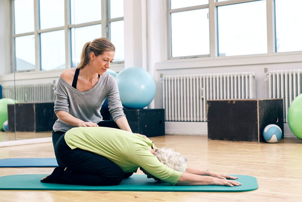 Therapeutic Yoga - Balance Physical Therapy, Monterey & Salinas, California